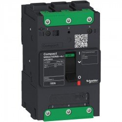 Compact NSXm - товаров разединител - 100A 3P - 2.13(Icm) 1.5(Icw) - Everlink lug
