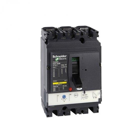 Автоматичен прекъсвач NSX100N 3P3D 63A 50kA