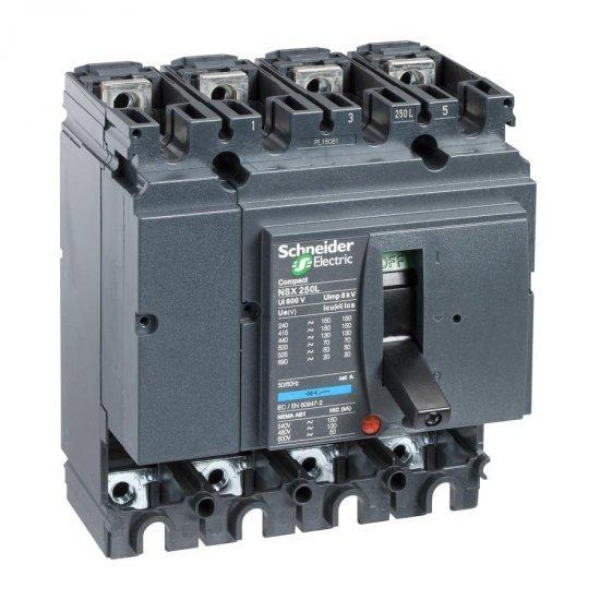 Автоматичен прекъсвач Compact 4P NSX160L без Защита