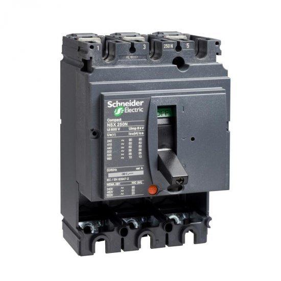 Автоматичен прекъсвач Compact 3P NSX250S без защита
