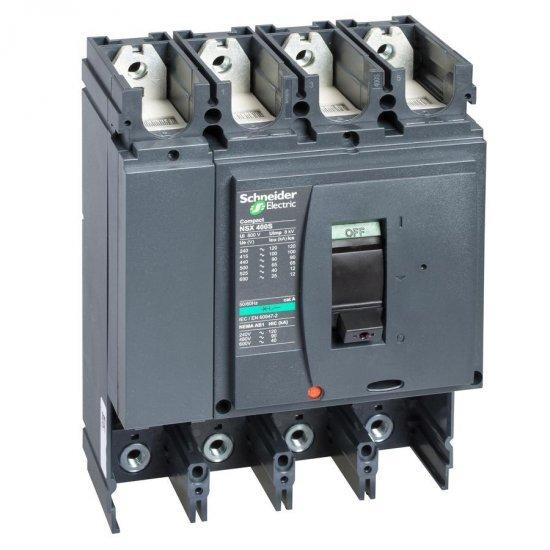 Автоматичен прекъсвач Compact 4P NSX400H без Защита