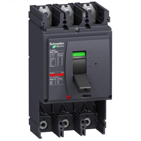Автоматичен прекъсвач Compact 3P NSX400S без защита