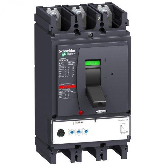 Автоматичен прекъсвач NSX400H 3P3D 400A Micrologic 2.3 70kA