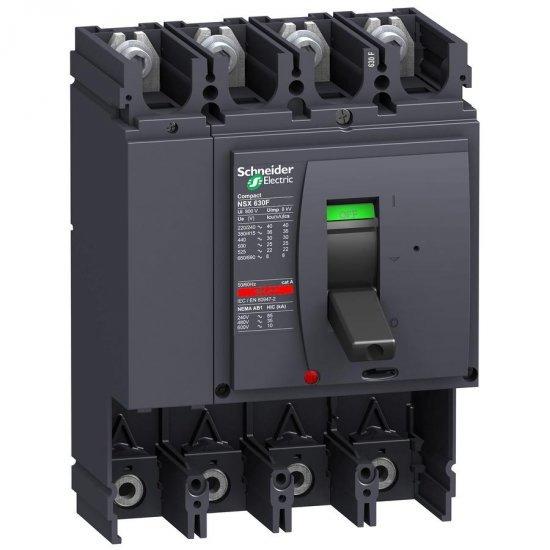 Автоматичен прекъсвач Compact 4P NSX630L без Защита