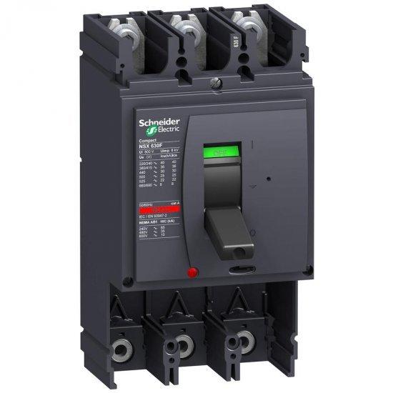 Автоматичен прекъсвач Compact 3P NSX630S без защита