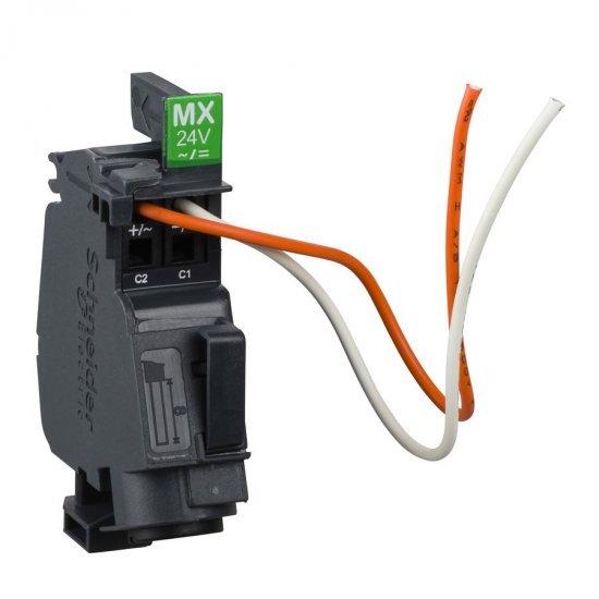 Опроводен независим изключвател MX - 24 V AC 50/60Hz - 24 V DC