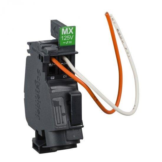 Опроводен независим изключвател MX - 110...130 V AC 50/60Hz - 125 V DC