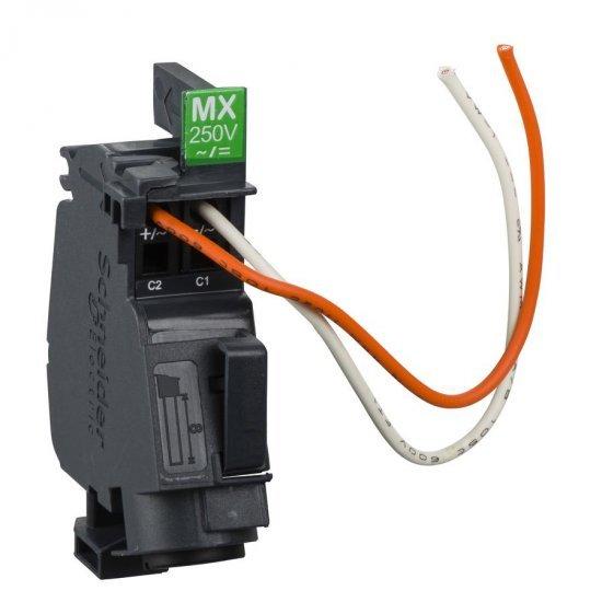 Опроводен независим изключвател MX 208-277V AC/DC