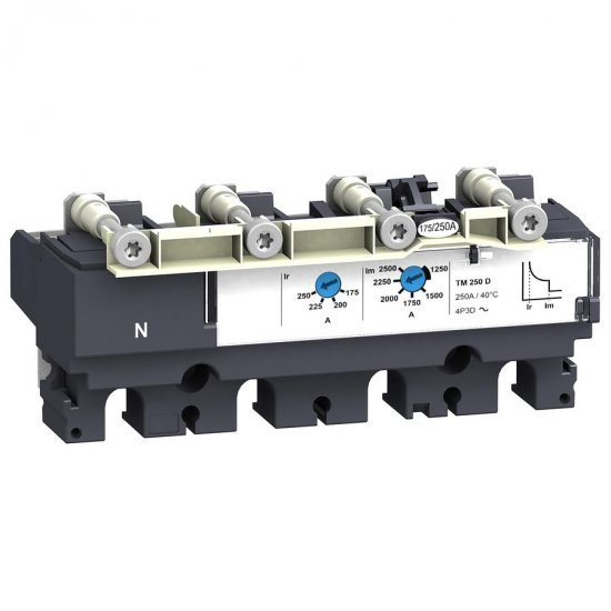 Изключвателно устройство - TMD - 25 A - 4 полюса