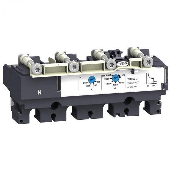 Защита 4P3D TM160D за NSX100...250A