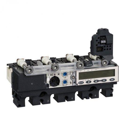 Защита 4P4D Micrologic 5.2A за NSX100...250А