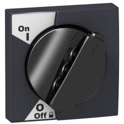 Въртяща се ръкохватка - за iC60 - черна дръжка