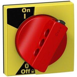 Въртяща се ръкохватка - за iC60 - червена дръжка