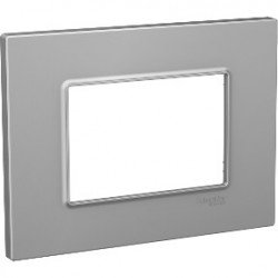 Рамка декоративна тройна сребро