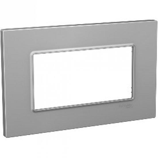 Рамка декоративна четворна сребро