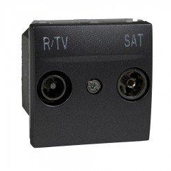 Механизъм R-TV/SAT единствена в серия 2М графит