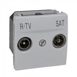 Механизъм R-TV/SAT единствена в серия 2М бял