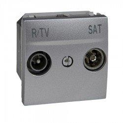 Механизъм R-TV/SAT единствена в серия 2М алуминий