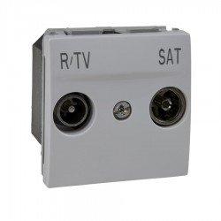Механизъм R-TV/SAT последен в серия 2М бял