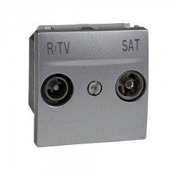 Механизъм R-TV/SAT последен в серия 2М алуминий