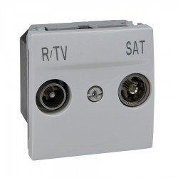 Механизъм R-TV/SAT междинна в серия 2М бял