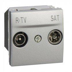 Механизъм R-TV/SAT междинна в серия 2М алуминий