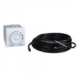 Термостат за подово отопление 10А бял двумодулен (механизъм)