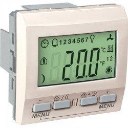 Механизъм KNX регулатор на стайна температура 2М 230 VAC слонова кост