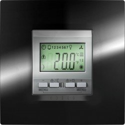 Механизъм KNX регулатор на стайна температура 2М 230 VAC алуминий