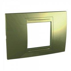 Рамка декоративна двумодулна старо злато