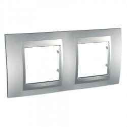 Рамка декоративна двойна алуминий