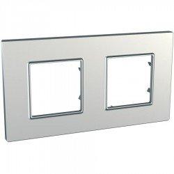 Рамка декоративна двойна сребро