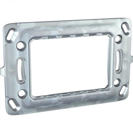 Рамка монтажна метална итал.стандарт 3М