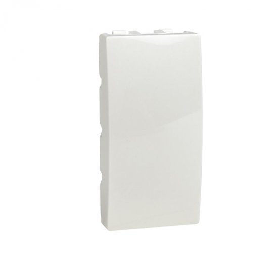 Капак декоративен - празен модул 1М слонова кост