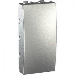 Капак декоративен - празен модул 1М алуминий