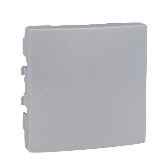 Капак декоративен - празен модул 2М бял