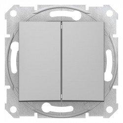 Сериен ключ, алуминий (механизъм + монт. рамка)