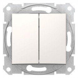 Сериен ключ, крема (механизъм + монт. рамка)
