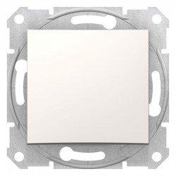 Девиаторен ключ, крема (механизъм + монт. рамка)