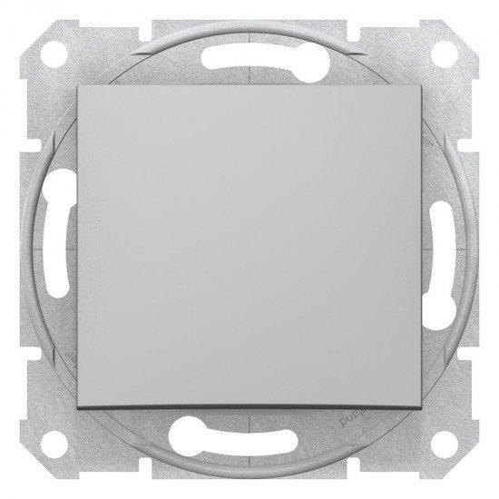 Девиаторен ключ, алуминий (механизъм + монт. рамка)