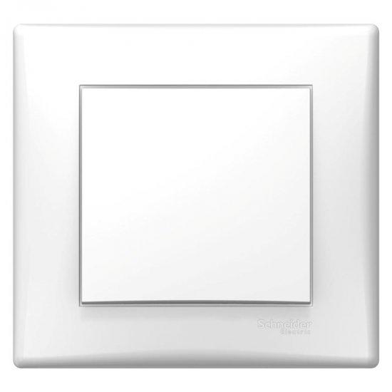 Девиаторен ключ, сглобен, бял