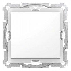 Девиаторен ключ, IP44 бял (механизъм + монтажна рамка)