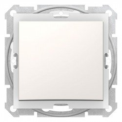 Девиаторен ключ IP44, крема (механизъм+монтажна рамка)