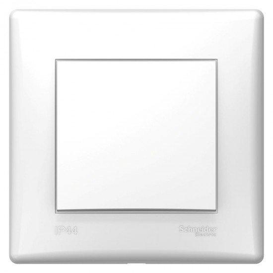 Девиаторен ключ, IP44, бял