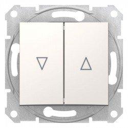 Ключ за управление на щори, крема (механизъм + монт. рамка)