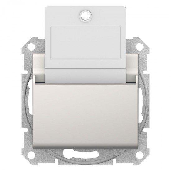 Ключ - карта, крема (механизъм + монт. рамка)