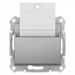 Ключ - карта, алуминий (механизъм + монт. рамка)