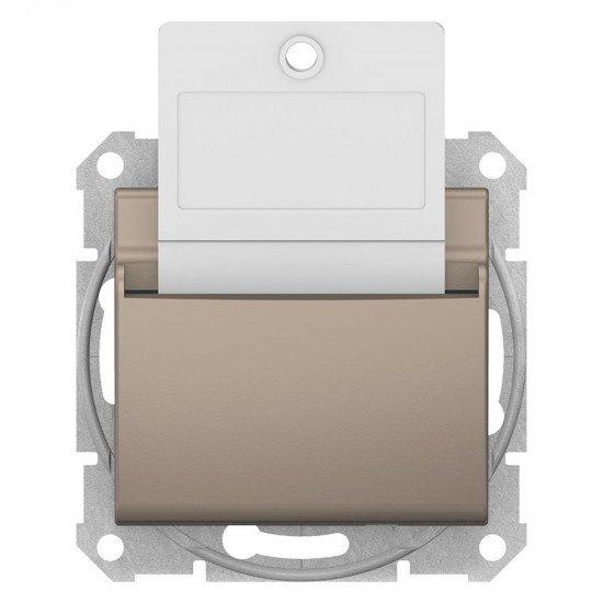 Ключ - карта, титан (механизъм + монт. рамка)