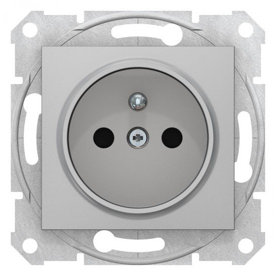 Механизъм контакт фр. ст-рт с д.з. 16А алуминий