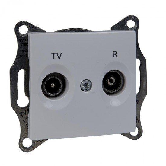 Механизъм розетка TV-R 1dB бял